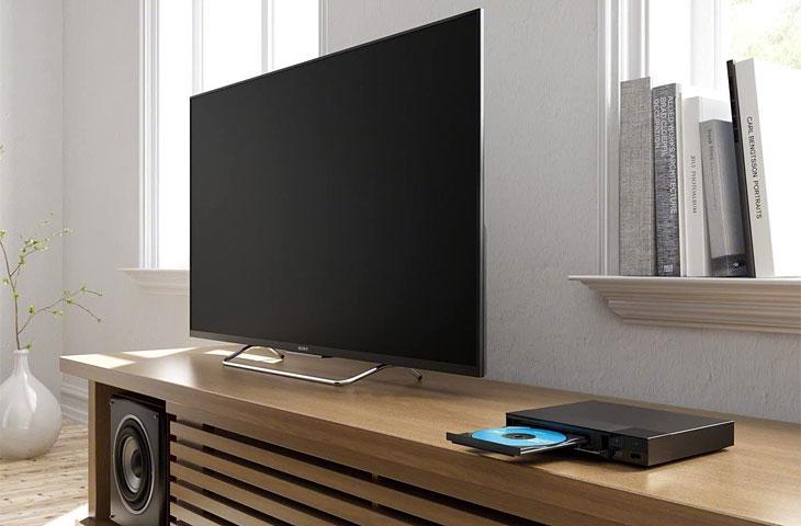Sony Blu-ray-Player in Benutzung