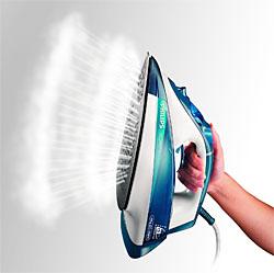 Dampfstoß beim Bügeln