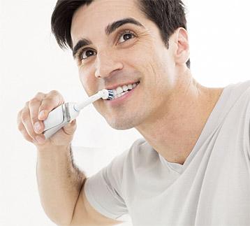 Prinzip von 3D-Zahnbürsten
