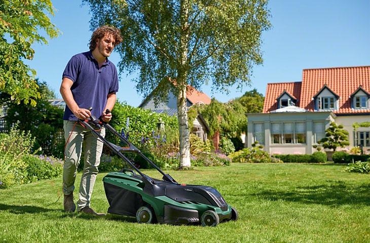 Elektro-Rasenmäher von Bosch