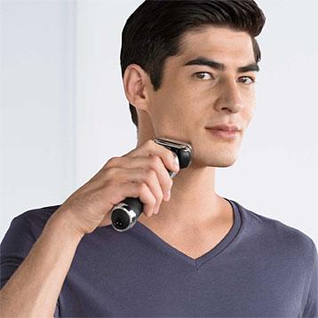 Braun Rasierer - Anwendung