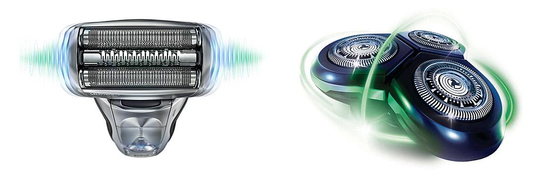 Elektrorasierer - Folie vs. Rotation im Vergleich