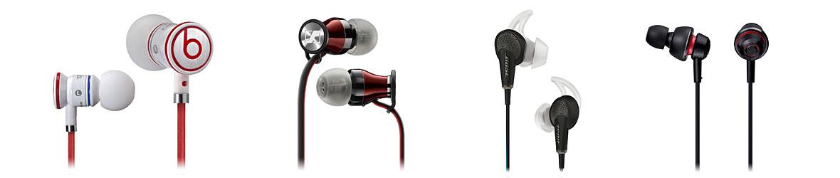 In-Ear-Kopfhörer von Beats, Sennheiser, Bose und Panasonic