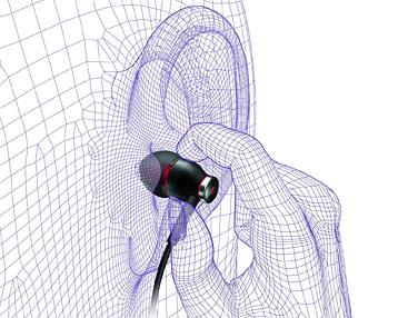 Abschirmung bei Philips Kopfhörer