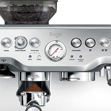 Kaffeestärkeeinstellung bei Sage Kaffeevollautomat