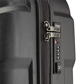 Titan Koffer mit TSA-Schloss