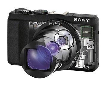 Sony Kompaktkamera - Aufbau