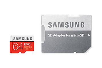 microSD-Speicherkarte von Samsung inkl. SD-Adapter
