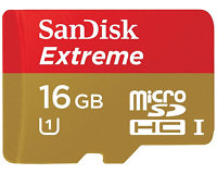 SanDisk Extreme Class 10