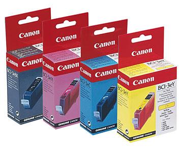 Tintenpatronen von Canon