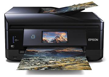 Epson Drucker beim Fotodruck