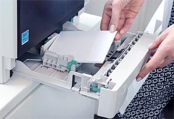 Kyocera - Dokumenteneinzug