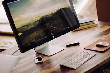 PC Monitor von Apple