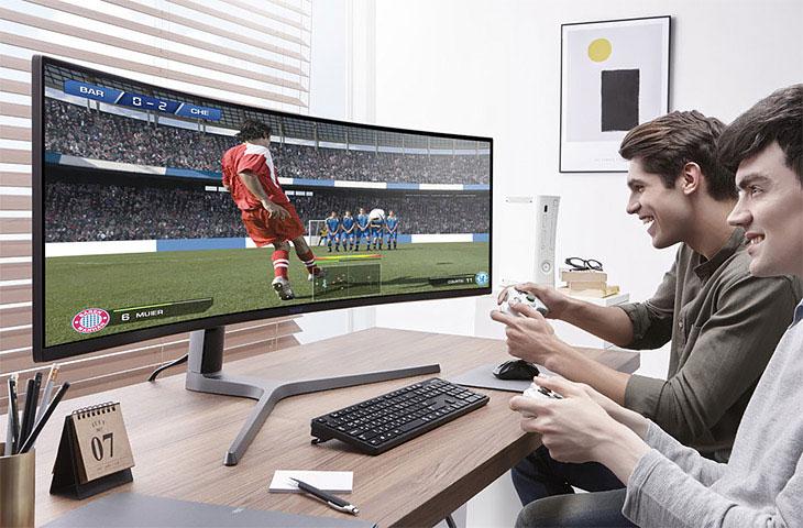 Samsung QLED Gaming-Monitor