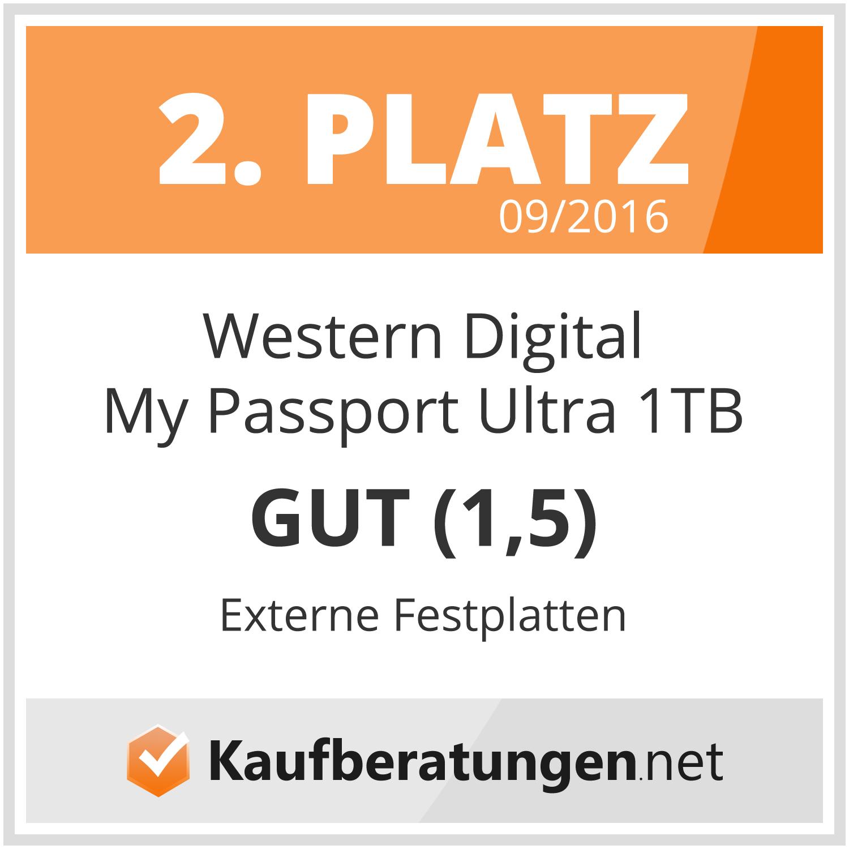 WD My Passport Ultra