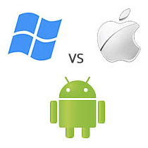 Windows, iOS, Android