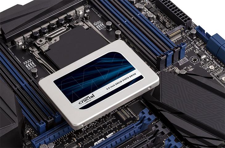 Crucial SSD Festplatte