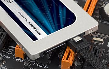 SSD Festplatte von Crucial