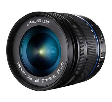 Samsung 18-55 mm Objektiv