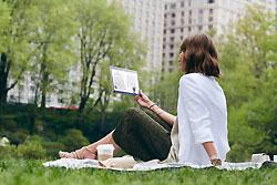 Samsung Galaxy Tab S - Nutzung im Freien