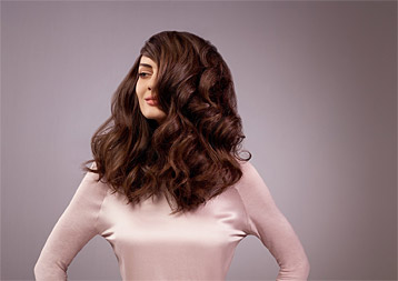 Hairstyling mit Philips HP8663/00 Warmluftbürste