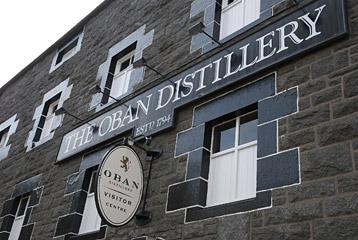 Oban Whisky Destilliere - Schottland